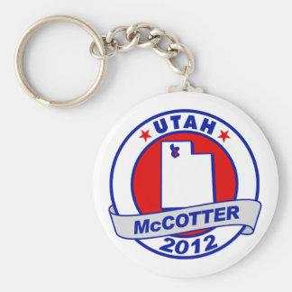 Utah Thad McCotter Keychain
