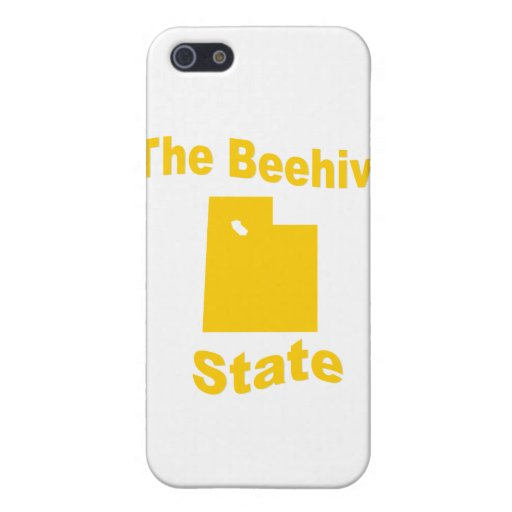 Utah: The Beehive State iPhone 5 Covers