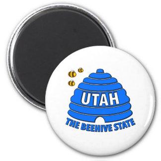 Utah: The Beehive State Refrigerator Magnet