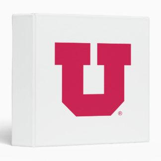 Utah U 3 Ring Binder