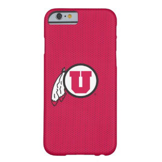 Utah U Circle and Feathers Barely There iPhone 6 Case