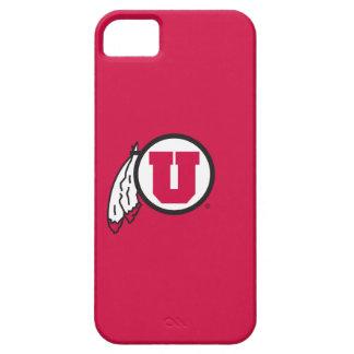 Utah U Circle and Feathers iPhone SE/5/5s Case