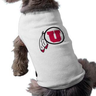 Utah U Circle and Feathers Shirt