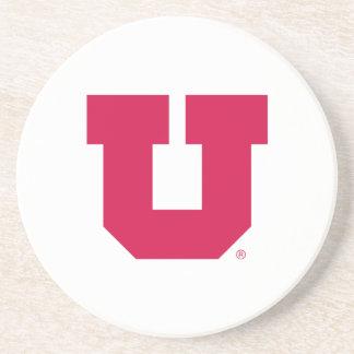 Utah U Drink Coaster