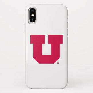 Utah U iPhone X Case