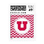 Utah U Postage Stamps