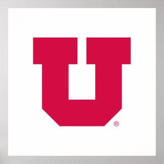 Utah U Póster