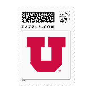 Utah U Stamp