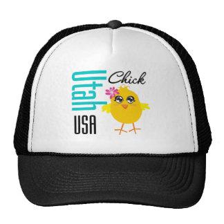 Utah USA Chick Mesh Hats