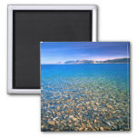 UTAH. USA. Clear water of Bear Lake reveals 2 Inch Square Magnet