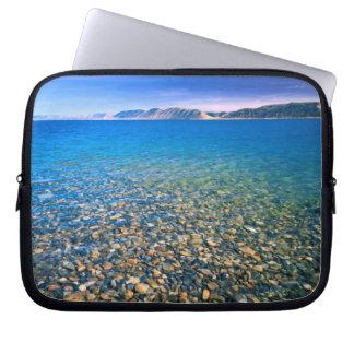 UTAH. USA. Clear water of Bear Lake reveals Laptop Sleeve