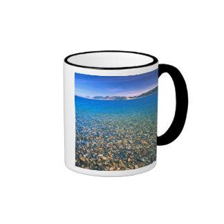 UTAH. USA. Clear water of Bear Lake reveals Mug