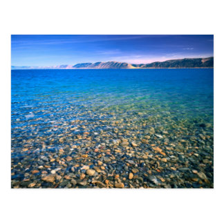 UTAH. USA. Clear water of Bear Lake reveals Postcard