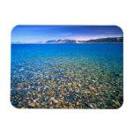 UTAH. USA. Clear water of Bear Lake reveals Rectangular Photo Magnet