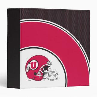 Utah Utes Helmet Binder