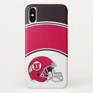 Utah Utes Helmet iPhone X Case