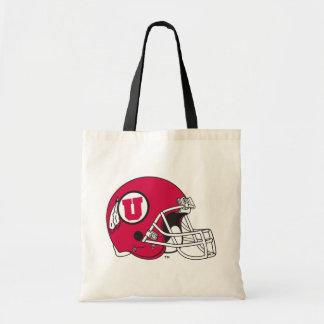Utah Utes Helmet Tote Bag
