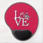 "Utah Utes Love Gel Mouse Pad<br><div class=""desc"">Check out these official University of Utah designs! All of the Ute merchandise on Zazzle.com is customizable with your name, sport, club, or class year. These products make perfect gifts for Utah students, alumni, friends, family, and fans. Show off your Utah pride by getting all of your custom merchandise and...</div>"