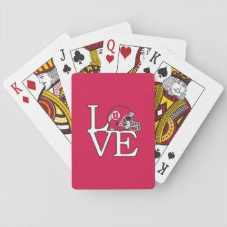 Utah Utes Love Playing Cards