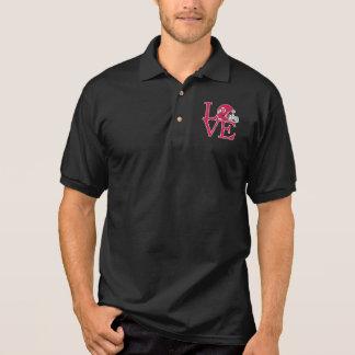 Utah Utes Love Polo Shirt