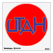 Utah Wall Art Wall Sticker