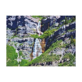 Utah Waterfall #1 - Canvas