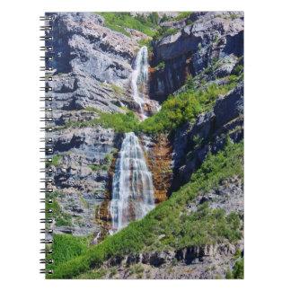 Utah Waterfall #1a- Journal / Notebook