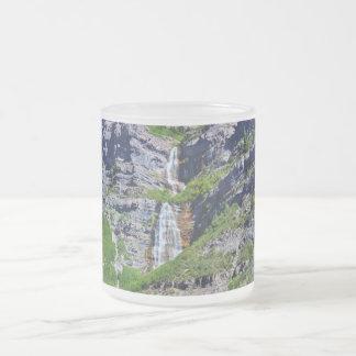 Utah Waterfall #1a- Mug (choose style) Frosted Glass Mug