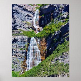 Utah Waterfall #1a- Poster (choose size)