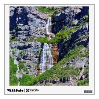 Utah Waterfall #1a- Wall Decal - Square