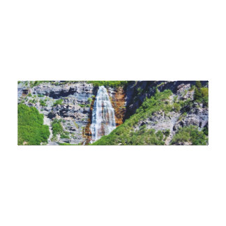 Utah Waterfall #1b - Canvas - Panorama