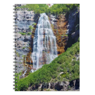 Utah Waterfall #1b- Journal / Notebook