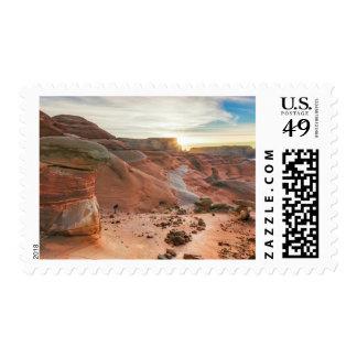 Utah, zona de recreo nacional 3 de Glen Canyon Timbres Postales