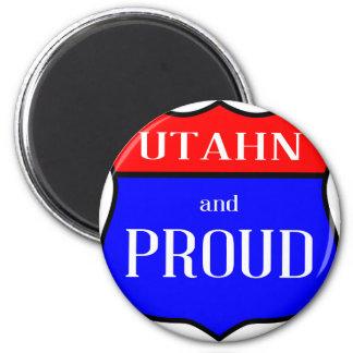 Utahn And Proud Magnet