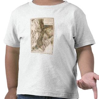 UtahPanoramic MapUtah Camiseta