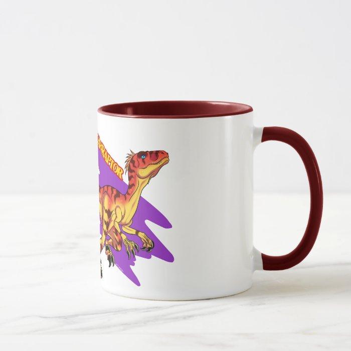 Utahraptor colors mug
