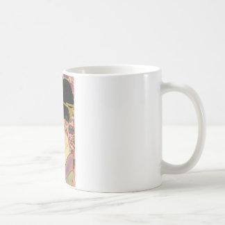 Utamaro Kitagawa Kushi Comb Coffee Mug