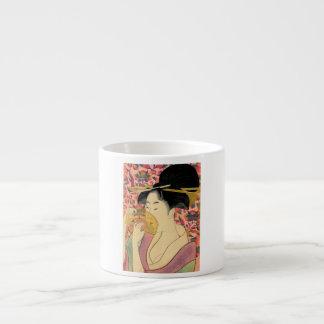 Utamaro: Kushi (Comb). Espresso Cup