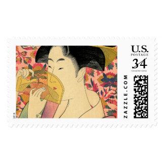 Utamaro: Kushi (Comb). Postage