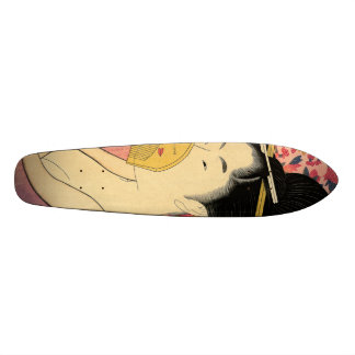 Utamaro: Kushi (Comb). Skateboard