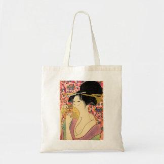 Utamaro: Kushi (Comb). Tote Bag