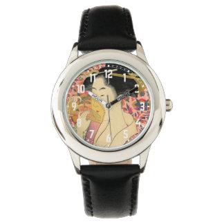 Utamaro: Kushi (peine). Reloj De Mano