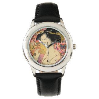 Utamaro: Kushi (peine). Relojes De Mano