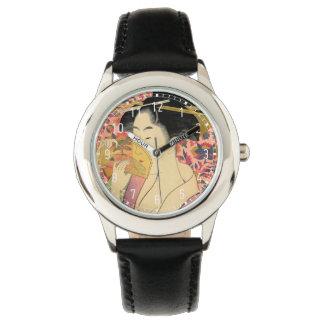 Utamaro: Kushi (peine). Relojes De Pulsera