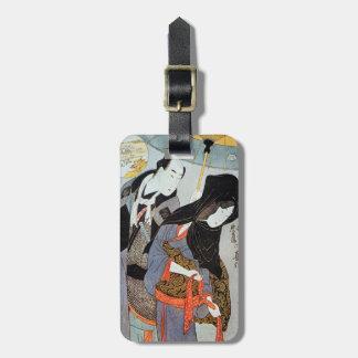 Utamaro: Lovers, 1797 Luggage Tag