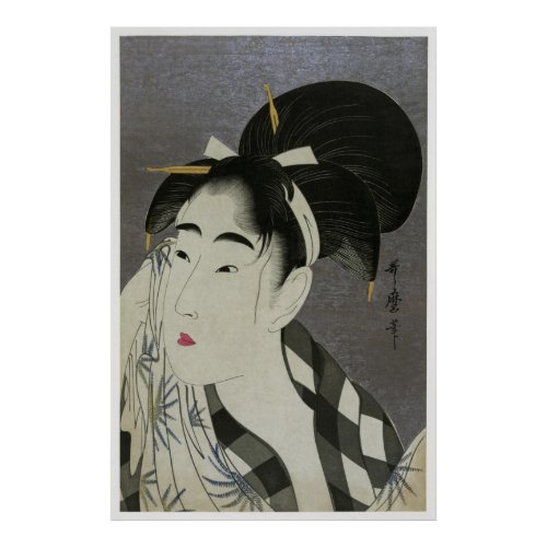 Utamaro Poster CC0054