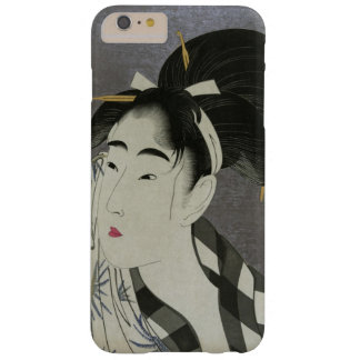 Utamaro's Ase O Fuku Onna art phone cases Barely There iPhone 6 Plus Case
