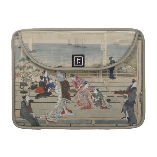 Utamaro's Japanese Art MacBook sleeves