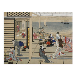 Utamaro's Japanese Art postcard