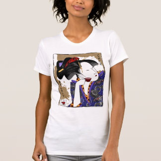 utamaro's cafe au lait #2 (w) T-Shirt